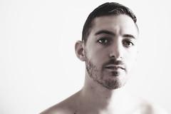 (Damien Cox) Tags: uk gay portrait blackandwhite bw selfportrait man male me face self ego myself beard masculine moi headshot editorial homo homosexual queer scruff stubble sigma30mmf14exdchsm i nikond40 damiencox snaptweet dcoxphotography