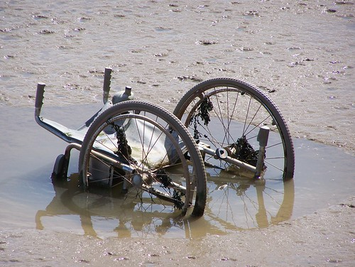Stuck in the mud #3: Wheelchair