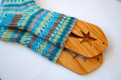 Oak Ribbed Socks