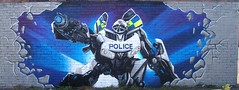 Northumbria.Police.Transformer-Zee.TTK-2009 (zee3rds) Tags: art newcastle graffiti transformer police zee workshop third aerosol astra teem