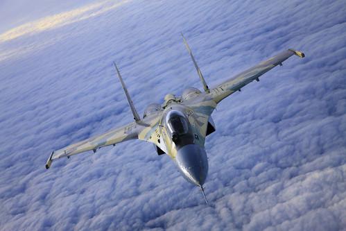 フリー画像| 航空機/飛行機| 軍用機| 戦闘機| Su-35BM スホーイ35BM|       フリー素材|