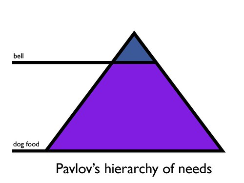 hierarchy of needs. Pavlov#39;s hierarchy of needs