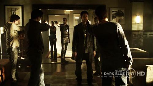 Dark Blue equipe Carter Dean Jamie Ty