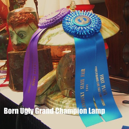 grand champion ugly lamp at the state fair