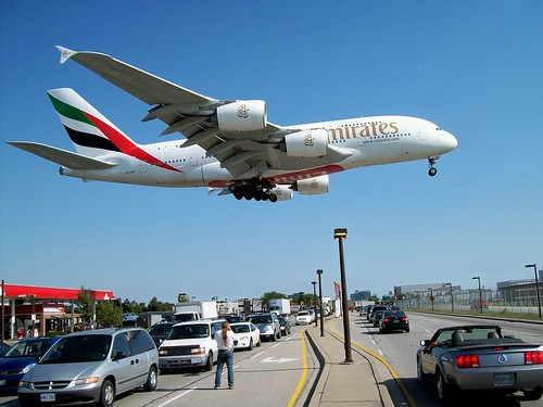 Emirates Airline Airbus A380-861