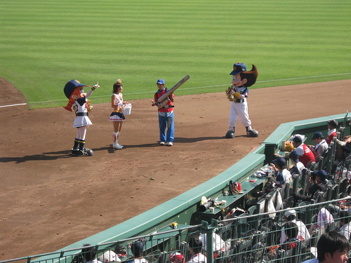 The Buffaloes mascots. Note that they are NOT buffaloes nor do they look like buffaloes.