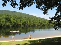 Small lake for swimming, fishing, paddling, etc.