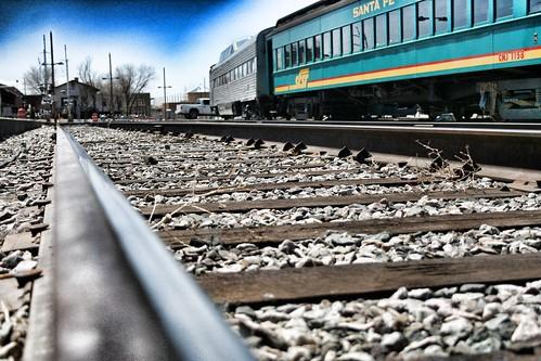 On Track (fj40troutbum) Tags: santafe gimp trains rails tomasitas