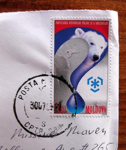 Moldova stamp