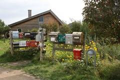 Mailboxes (Alda Kalda) Tags: climatechange ecovillage dyssekilde think2