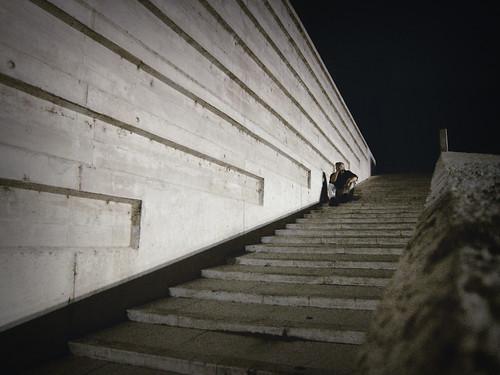 escalera Museo de las ciencias