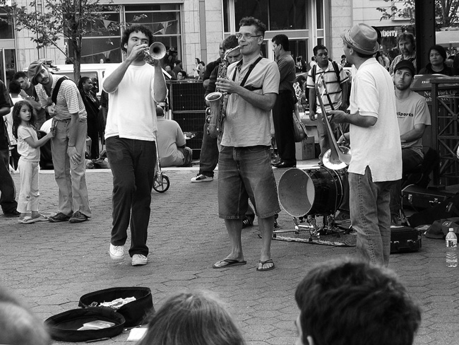 Performers, Union Sq. NYC