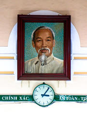 Uncle Ho in the main post office