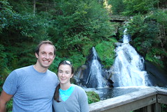 Tim & Emily at Germany's Highest Waterfall