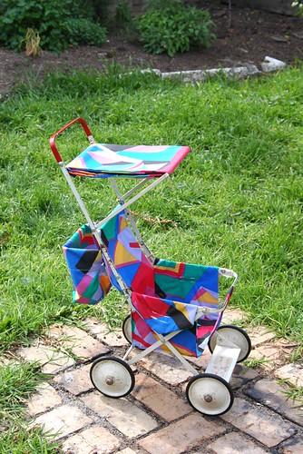vintage doll stroller