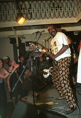 Mac Tontoh Project from Ghana at the Africa Centre London Nov 2000 025 (photographer695) Tags: world africa music african centre band jazz ghana ashanti trumpeter osibisa mactontoh ketewarriors