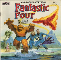 1984 - Marvel Books - Fantastic Four: The Island of Danger (daniel85r) Tags: marvel fantasticfour norem earlnorem