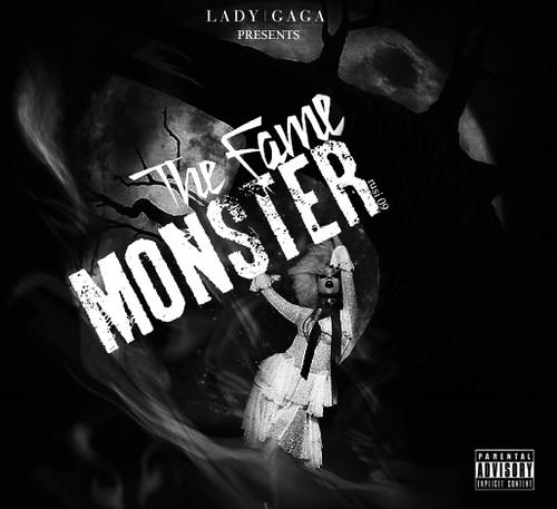 Cd artwork: Lady Gaga The Fame Monster 1