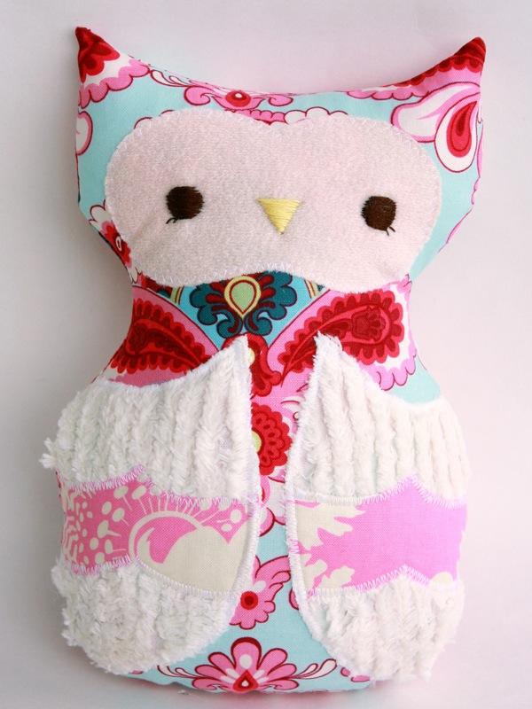 Olivia Owl - S1 Pink1