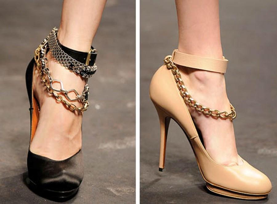 TheGlamourai DIY Lanvin shoe jewelry 4