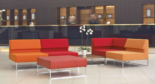 Couch Furniture for Minimalist Lobby Interior High Fit Home