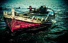 Sinking (Nobru Ferreira) Tags: boat sinking iguaba araruama
