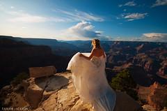 Grand Canyon Wedding Dress Arizona (taylorjackson.ca) Tags: vegas wedding arizona fashion photography photographer dress grandcanyon grand canyon ganc taylorjackson