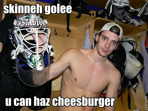 Gustavsson can haz cheesburger. He's earned it