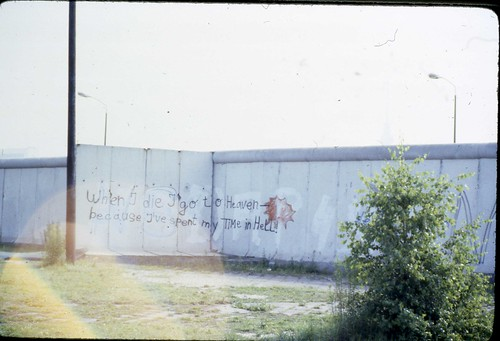 West Berlin 1980 - Berlin Wall #3