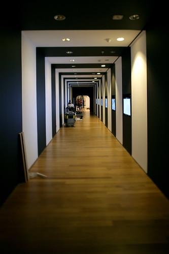 Tim Burton installation (by MoMA The Museum of Modern Art)