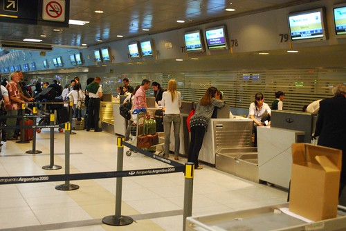 Mexicana Check-In at Ezeiza