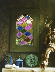 little window (Romany Soup) Tags: colour garden interiors