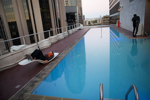 Pool at the Standard