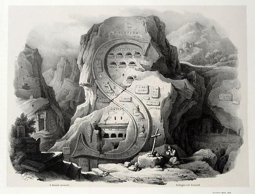 018-Letra S-Alfabeto pittorico- Antonio Basoli 1839-© Accademia di Belle Arti di Bologna