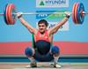 Zairov AZE (Rob Macklem) Tags: china men olympic 2009 lu 85kg olympicweightliftingkoreaworldchampionshipsgoyangcity