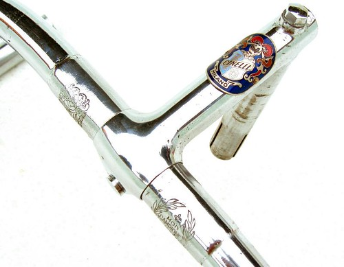 Early steel badged Cinelli stem and bars