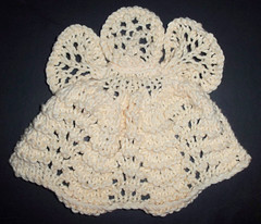November Mid Month - Tina's knit angel dishcloth