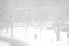 """"""" Montreal_1st_Storm_ """" (gmayster01 on & off ...) Tags: bw canada flickr solitude quebec montreal snowfall winterstorm decembre tempetedeneige gmayster01"""