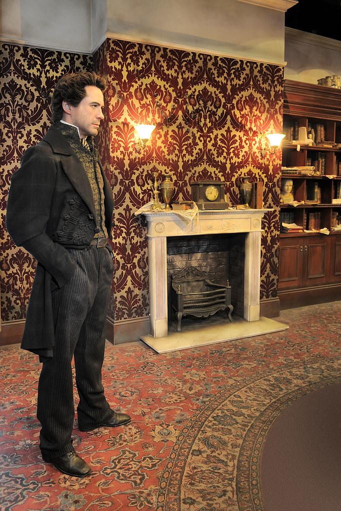 Sherlock Holmes London Madame Tussauds