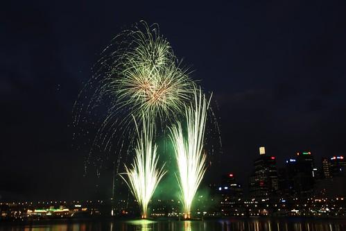 Darling Harbour Pre-Xmas Fireworks