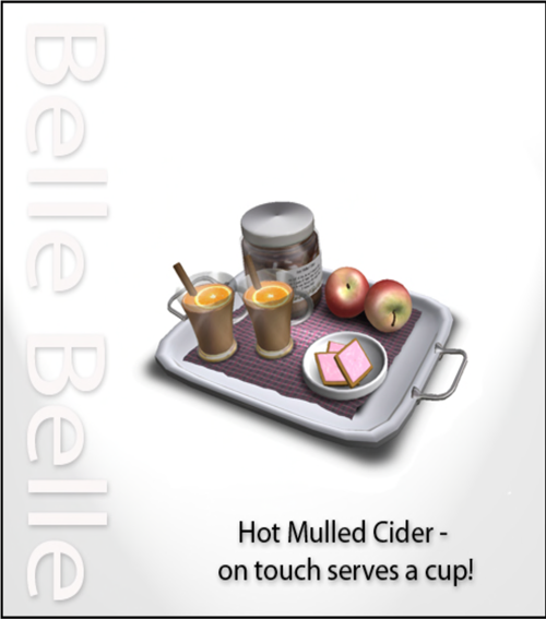 Belle Belle - Hot Mulled Cider Tray