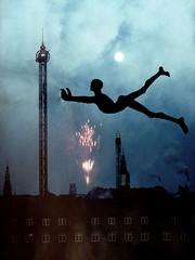 Fly in to the new year! (Emma Line) Tags: light collage copenhagen denmark idea pretty creative emmalinehs