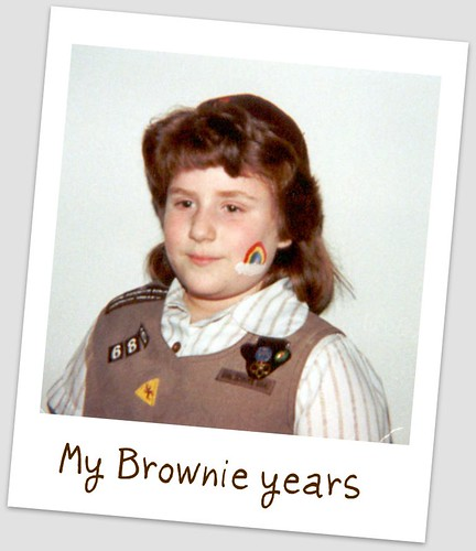 C'est Moi - a Brownie Girl Scout