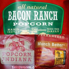 bacon ranch popcorn