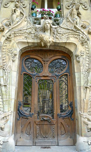 Intricate Wood Door