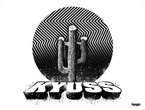 Pôster Kyuss - Stoner Posters