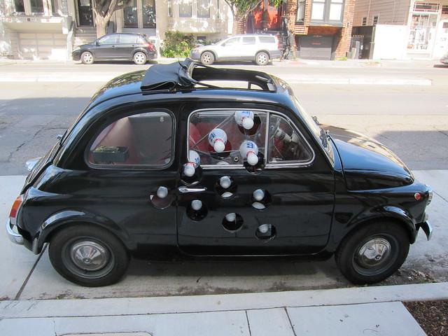 Bowling Pin Car