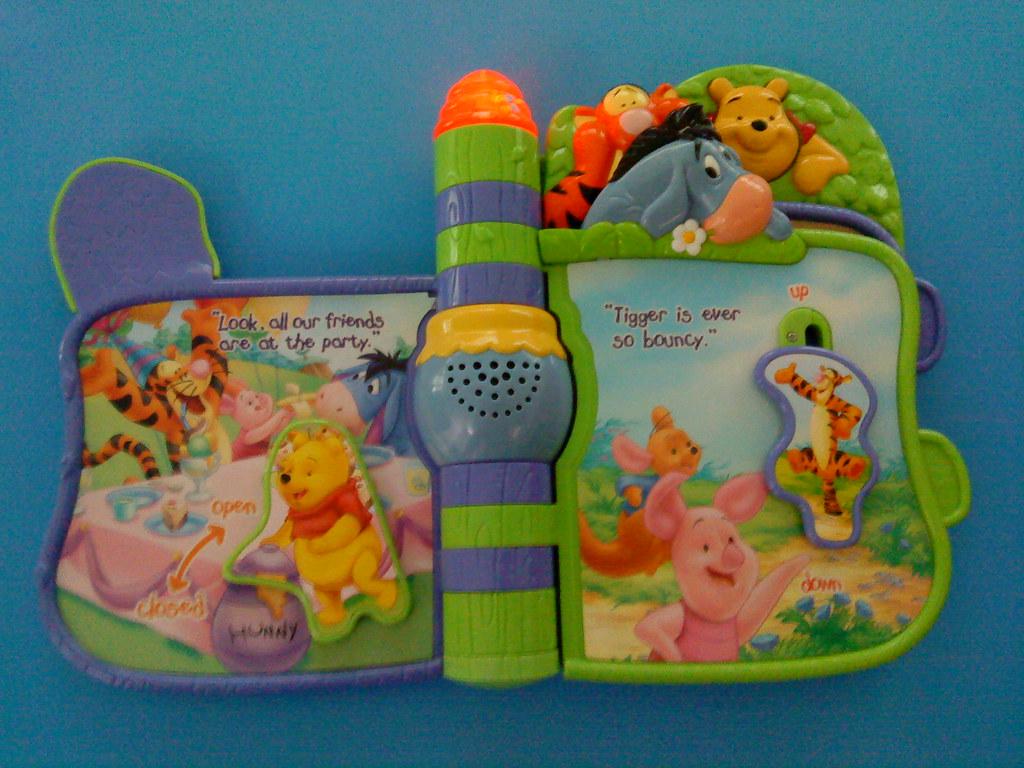 vTech Learn n Slide Winnie The Pooh $18