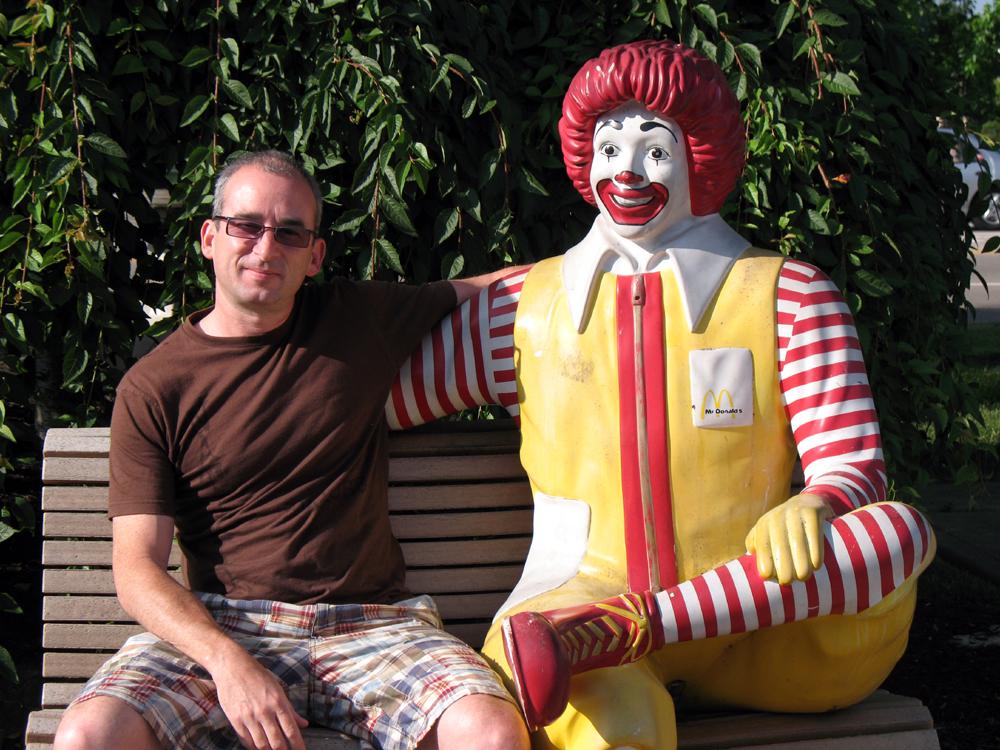 Ronald & me