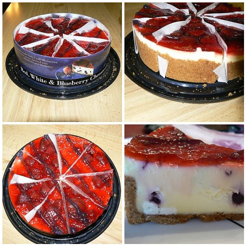 4th of July Cheesecake Splurge